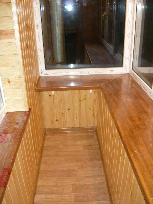 Ремонт балконов под ключ, вид окна харьков.